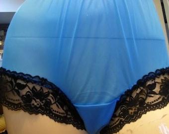 17 kleur nieuwe witte pure nylon oma slipje slips hoge