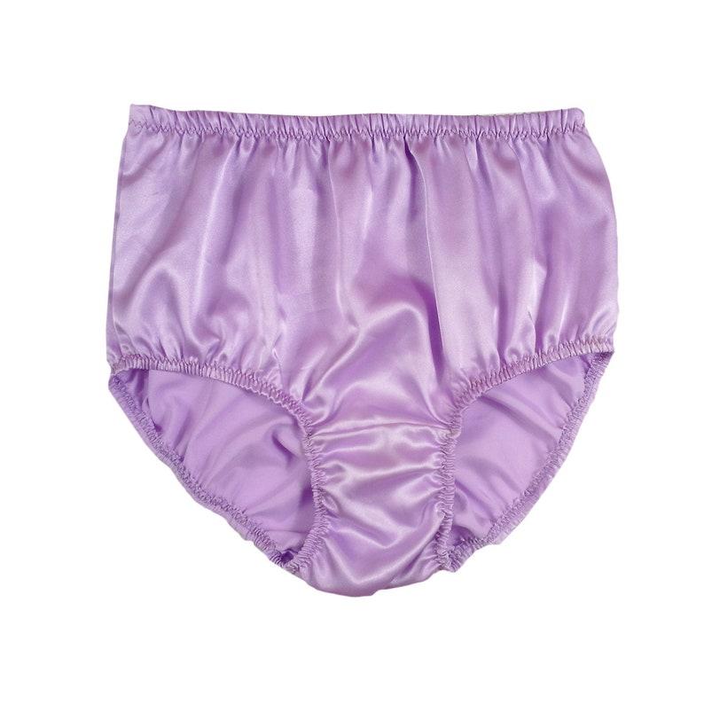 Panties Culotte Sissy Bleu Gris Satin Corde Bikini Hommes Brillant Souple Sous-vêtement
