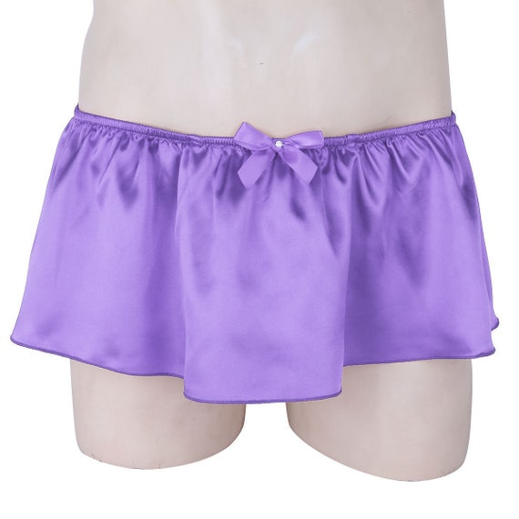 Wetlook Silky Soft Satin STRETCH BRIEFS Size 9 VTG Style SISSY Multicolors