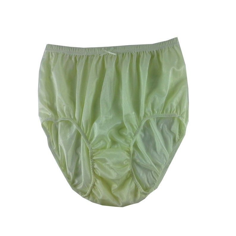 433ee2a6d39 Fair Yellow Vintage Style Granny Full Briefs Panties Women