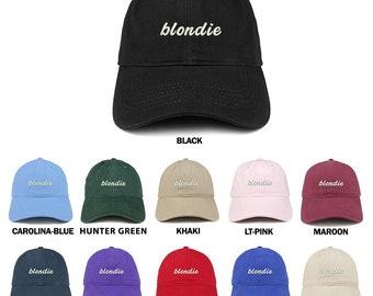 aee103696b02d Stitchfy Blondie Embroidered Brushed Cotton Dad Hat Cap