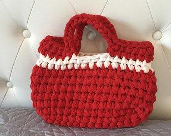 Small Red ribbon Bag