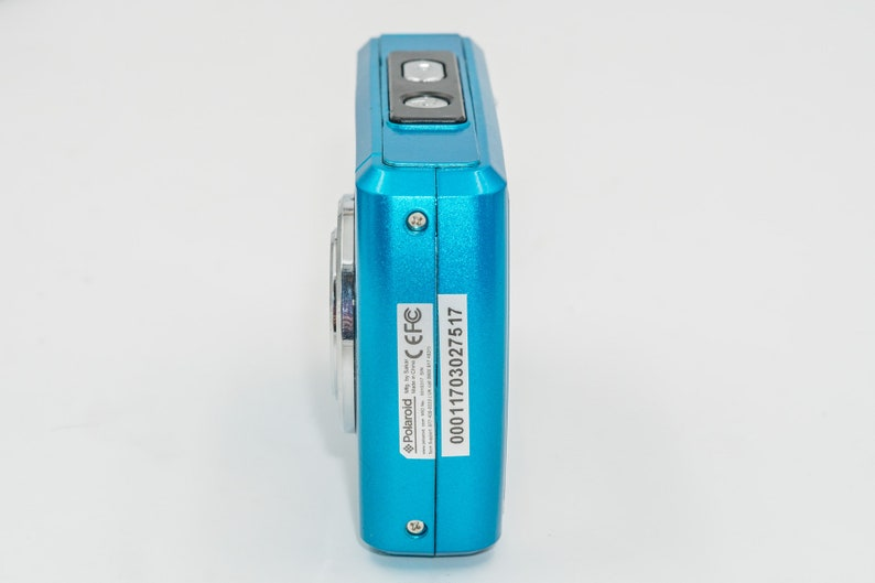 Polaroid iSO48 Waterproof 16MP 4x Optical Zoom Digital Camera - Teal  New,  Old Stock