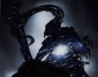 Artorias Galaxy Original Painting