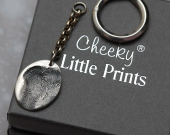 Personalised Actual Paw Pad Keyring - Dog Paw - Silver - Keychain - Dog Lover - Birthday Gift - Christmas Gift - Pet Accessories - Bespoke