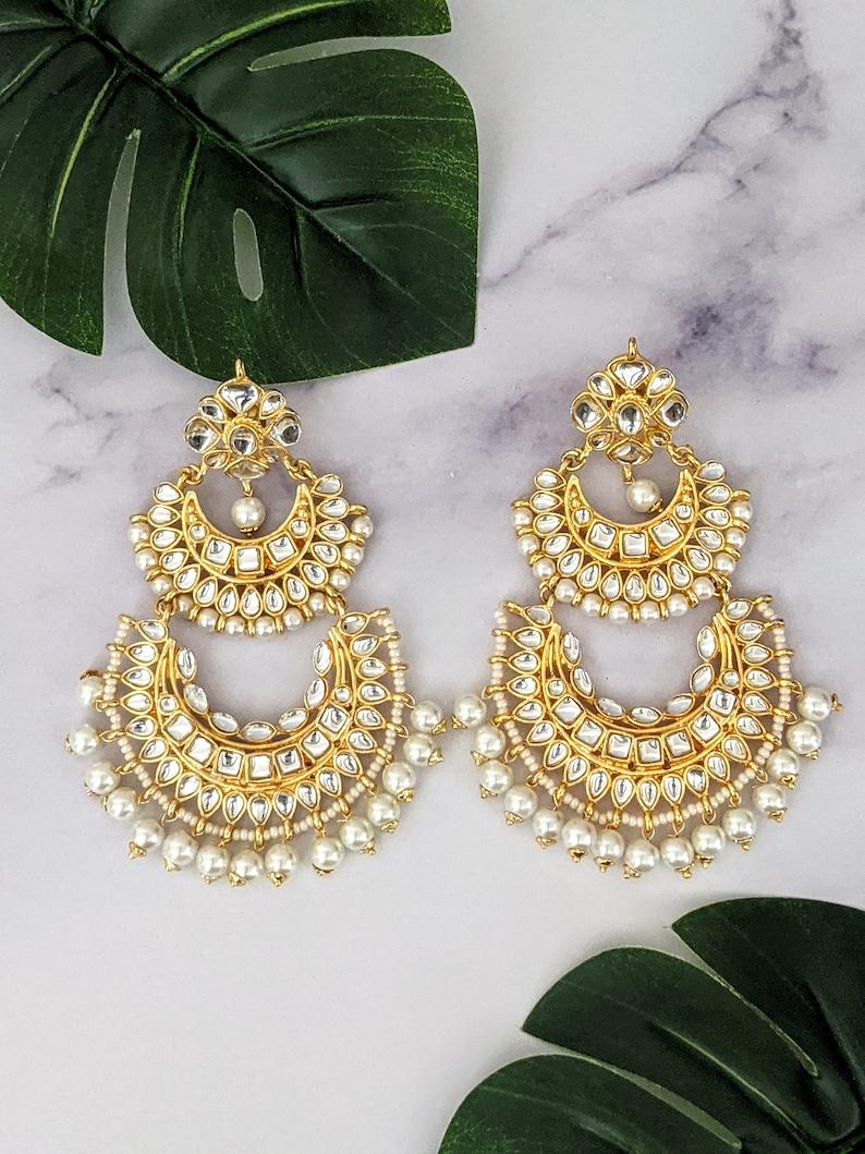 Long beautiful earrings