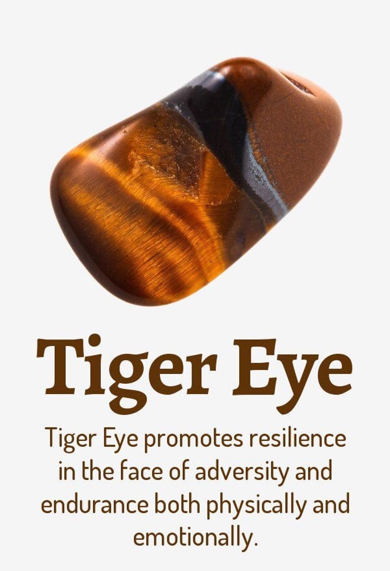 Tigers Eye Tear Choker Chain Pendant Gold Lightweight Alloy Adjustable.
