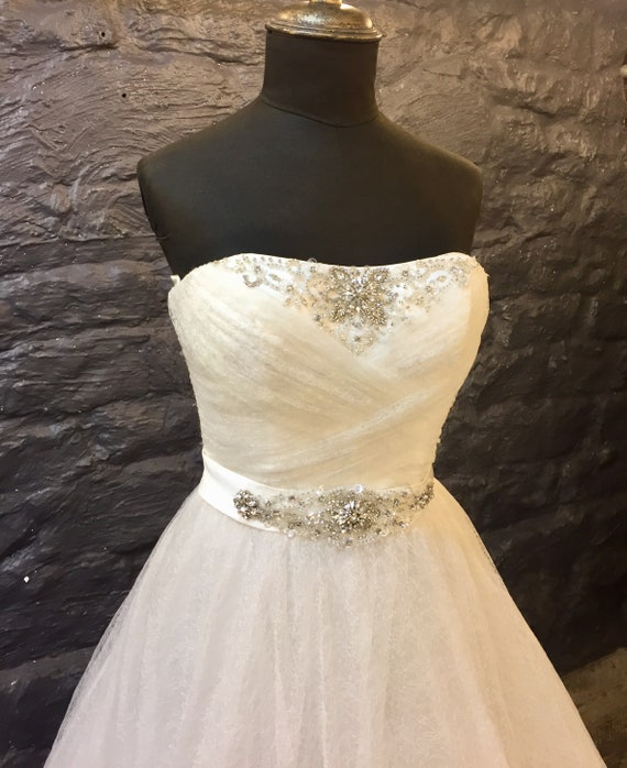 Gown Romantic line Bridal A Tull CgwqgTcOP