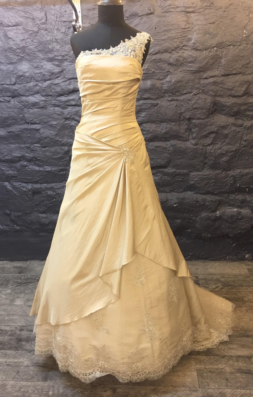 ERRÖTEN Schulter elegantes Brautkleid