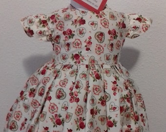 summer rose party dress