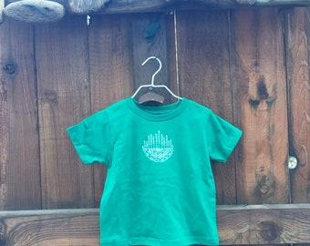 Redwood mandala children's t-shirt