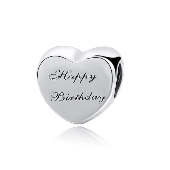 pandora charm originali birthday
