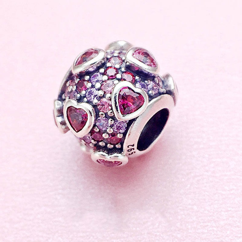 25d3aed72 New Explosion of Love Multi-Colored Charm Bead Pandora | Etsy
