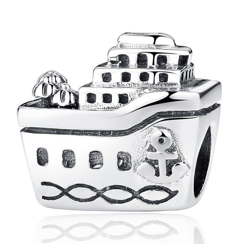 c879df574 New Cruise Ship Charm 100% 925 Sterling Silver Pandora | Etsy