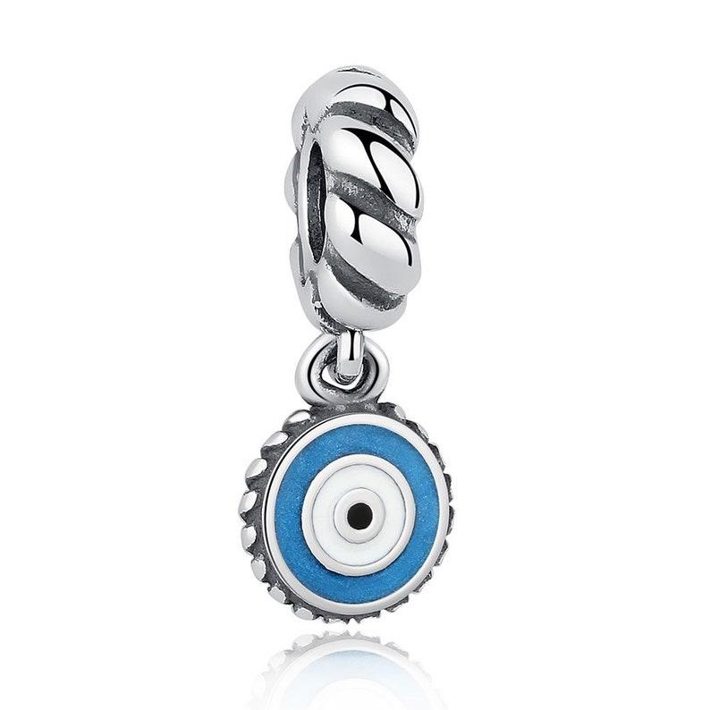 a7865d571 Turkish Evil Eye Charm 100% 925 Sterling Silver Pandora | Etsy