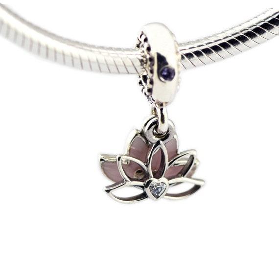 charms pandora fleur de lotus