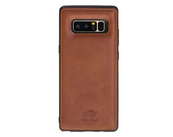 cc182afea743 Leather note 8 case   Etsy