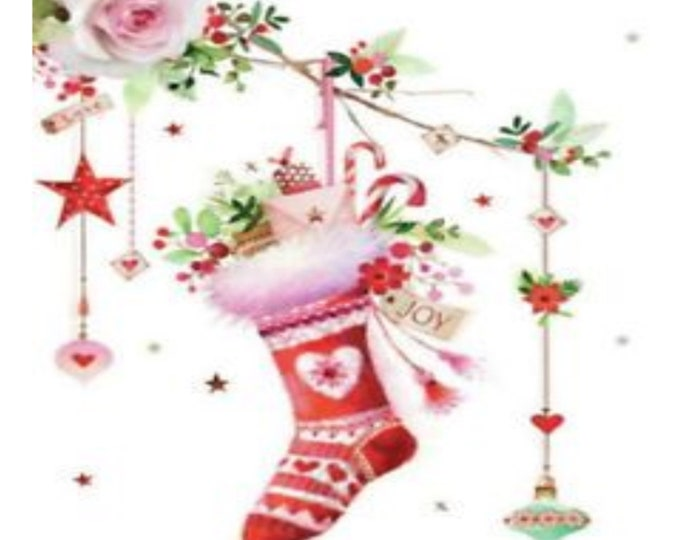 Whimsical Stocking Picture for our frames, Christmas Home Decor, One Frame endless possibilities, Magnetic Home Decor, Christmas Stockings