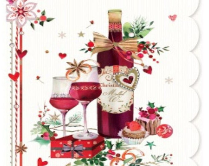 Christmas Home Decor, Christmas Merlot Picture for our frames, One Frame endless possibilities, Magnetic Home Decor, Christmas Merlot Gifts