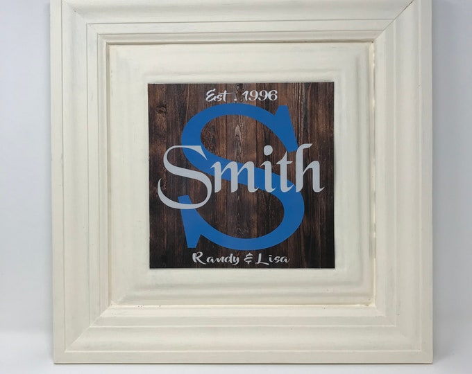 Featured listing image: Custom Board signs, Accent Wall, Farmhouse, Southern Decor, One Frame endless possibilities, Frame, A new twist on Home Decor, Board Signs