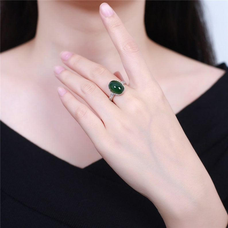 Jasper Ring-silver ring-Boho Rings-Christmas Gift-Gift for Women-fashion ring-925 silver ring