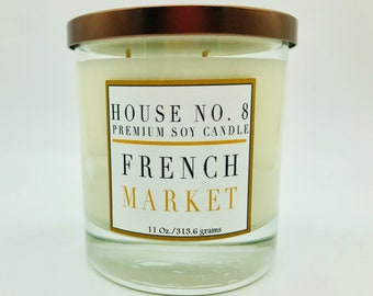 French Market Premium Soy Candle