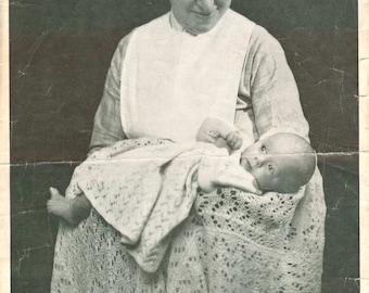 Baby Layette & Shawl Pattern