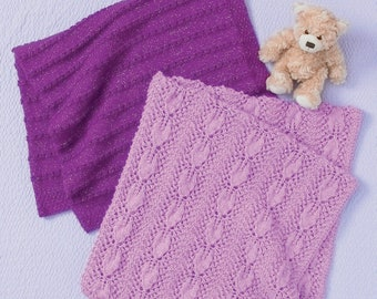 Hayfield Baby Blanket DK