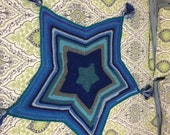 5pointed Star - Shades of Blue
