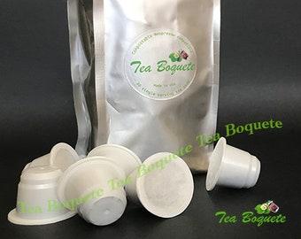30 English Breakfast Black Tea, Nespresso compatible tea pods.