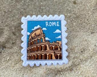Rome Lion patch roma republic spqr Iron//Sew on badge