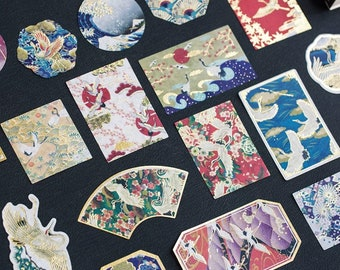 Washi Chiyogami subikiawa 12 cm japonais Origami Papier