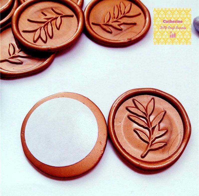 self adhesive wax seal letter writing seal Wax seals peel and stick wax seal wedding envelope seal wax seal sticker