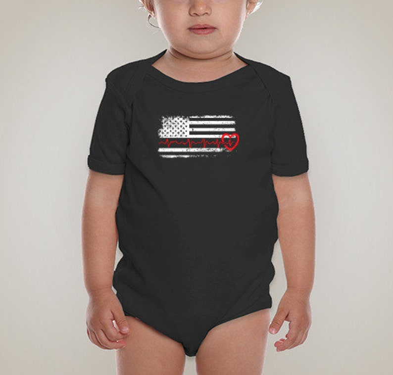 The Thin Red Line Onesie-Thin Red Line Baby Outfit-Newborn-Fireman-Thin Red Line Baby Shirt-Gender Neutral-Fire Fighter Baby Announcement
