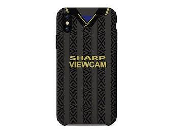 99f8f5f14 Manchester United 1993-95 Away Shirt football iPhone Case