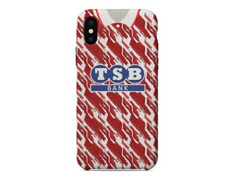 18fe8d607f3 Brighton   Hove Albion 1991-1993 Away Shirt football iPhone Case