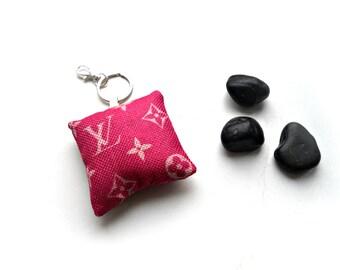 Mini Pillow Keychain Etsy