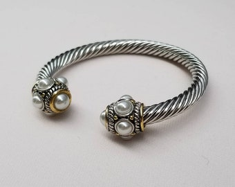 b4298d406a6 Twisted cable bracelet,twisted cable bangle bracelet,bangle bracelet,classic  twisted cable cuff bracelet,twisted cable cuff,cuff bracelet