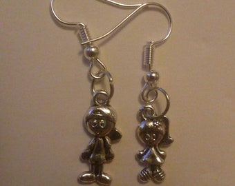 Happy people earrings