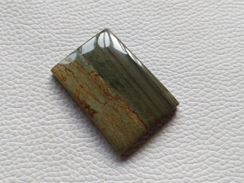 38X26X6 mm Rectangular Shape Loose Landscape Jasper Cabochon Use For All Type Of Jewelry Gemstone Natural Jasper Cabochon