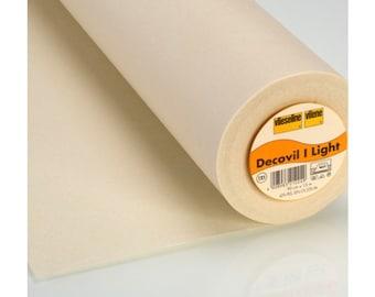 Vilene Decovil Light , decovil, decovil light 525, pellon 525, fabric stabilizer, interlining, interfacing