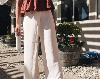 Chic Flowy Layered Summer Pants | HOT ITEM