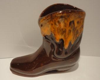 McMaster Pottery Craft Cowboy boot souvenir e3d68e4c861a