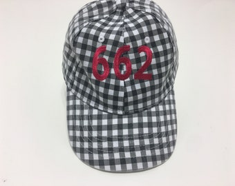 Area Code Embroidered Baseball Cap