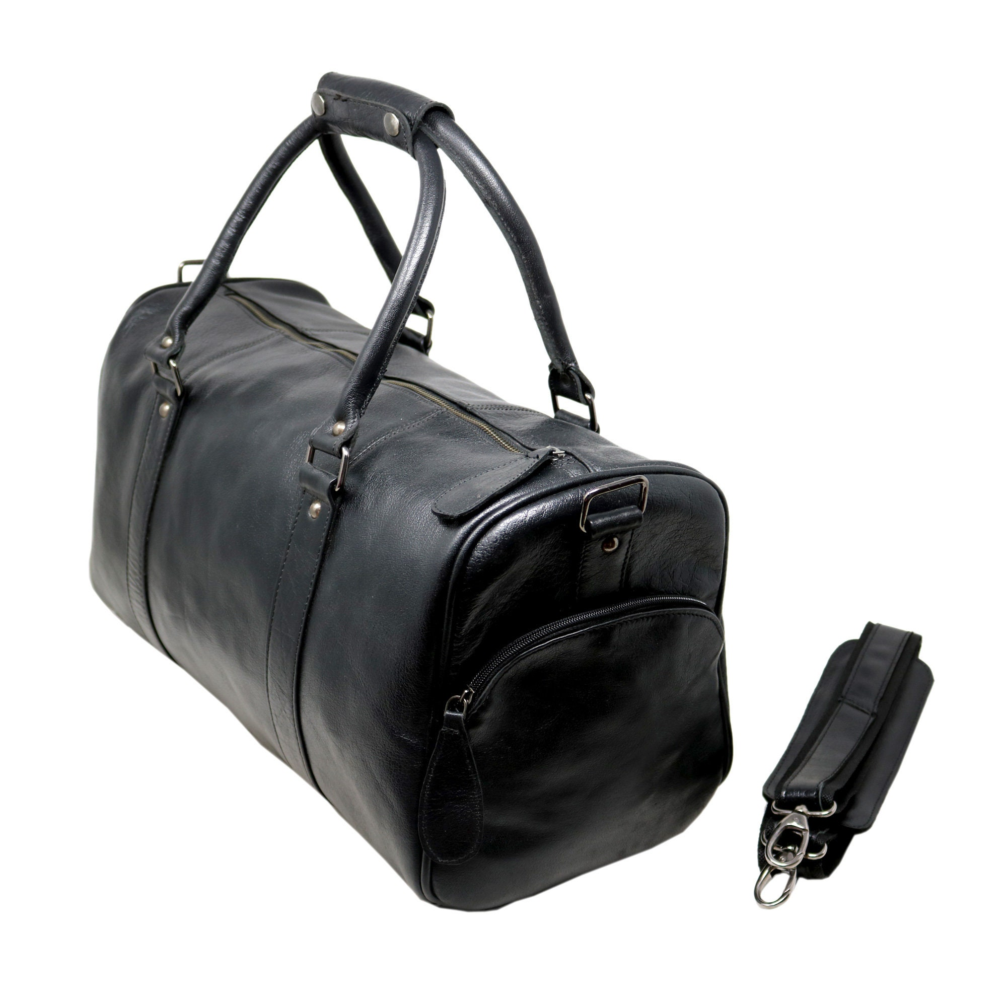 40% Off Personalize 18 Genuine Leather Duffel Bag  aa07a6127e371