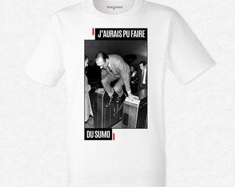 T-shirt Chirac sumo