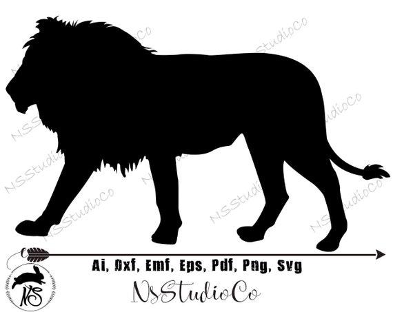 Lion Svg Lion Dxf Lion Clipart Lion Files Printing Design Etsy