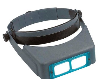 Genuine OptiVISOR® Headband Magnifiers by Donegan