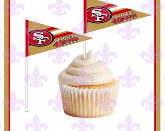 49ers Cake Toppers