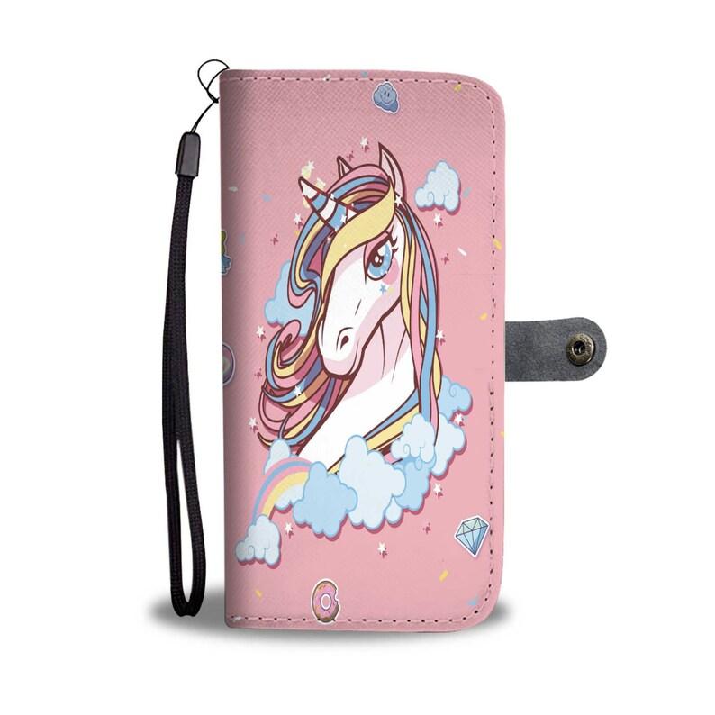 detailed look 97ee7 956bf Unicorn Wallet Case, Unicorn Phone Case, Unicorn Iphone Case, Unicorn  Wallet, Wallet Case, Wallet Iphone Case, Wallet Phone Case